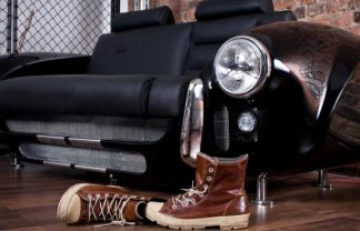 """sofa Made by Real Car Parts"" Furniture Collection made by Real Car Parts Unique Furniture Collection made by Real Car Parts sofa Made by Real Car Parts 740x491 324x208"