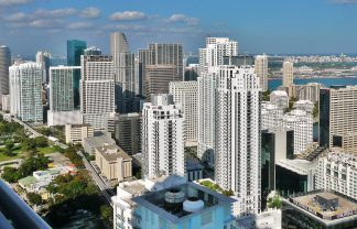 Unbelievable Streets to visit in Miami Miami skyline northern Brickell 20100206 324x208