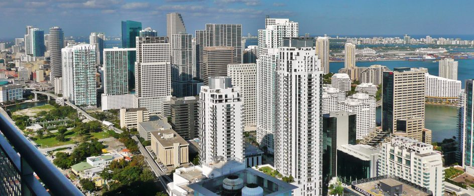 Unbelievable Streets to visit in Miami Miami skyline northern Brickell 20100206 944x390