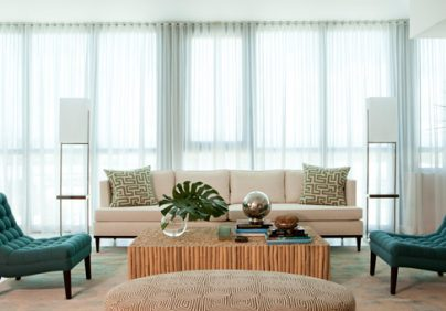 """Miami Beach House designed by David Scott Interiors"""