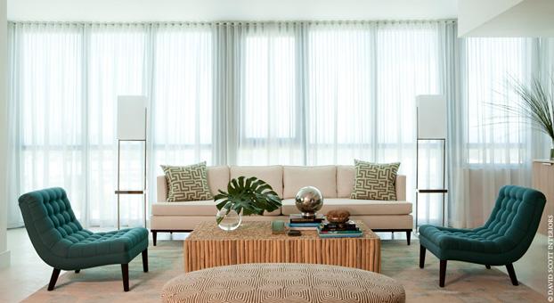 """Miami Beach House designed by David Scott Interiors""  Miami Beach House designed by David Scott Interiors Miami Beach Oceanfront house david scott interiors"