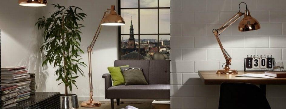 15 modern design floor lamps for a living room Koperen lampen eglo 1024x682 944x360
