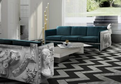 modern sofas Top 15 modern sofas for luxury living room versailles blue 404x282