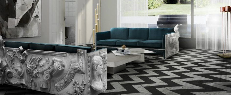 modern sofas Top 15 modern sofas for luxury living room versailles blue 944x390
