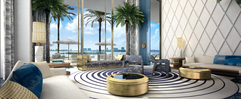 jean louis deniot JEAN LOUIS DENIOT DESIGNS NEW Elysee TOWER IN MIAMI cover 3