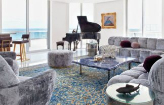 BROWN DAVIS INTERIORS GLAMOROUS MIAMI BEACH PENTHOUSE BY BROWN DAVIS INTERIORS cover 5 324x208