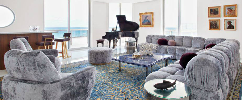 BROWN DAVIS INTERIORS GLAMOROUS MIAMI BEACH PENTHOUSE BY BROWN DAVIS INTERIORS cover 5