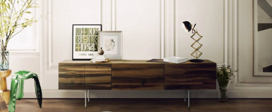 Modern Console Tables 100 Modern Console Tables for Your home – free e-book matheny suspension light fixture brass tubes stilnovo chandelier 06 944x389