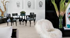 black and white living rooms MODERN BLACK AND WHITE LIVING ROOMS BY LUXE INTERIORS+DESIGN page 1 1 238x130