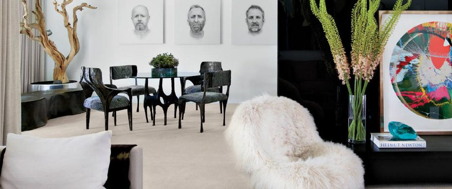 black and white living rooms MODERN BLACK AND WHITE LIVING ROOMS BY LUXE INTERIORS+DESIGN page 1 1 930x390