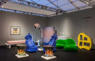 miami design week Miami Design Week Irreverent Furniture Design chamber gallery design miami furniture installation views credit lauren coleman dezeen 2364 col 7 324x208