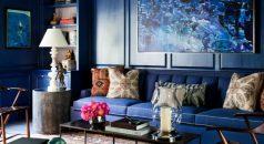 blue living rooms 10 Lavish Blue Living Rooms to Inspire you zach desart 1 1 238x130