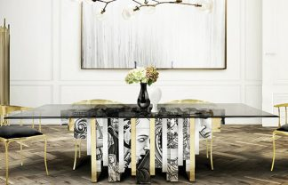 MODERN DINING TABLE 25 MODERN DINING TABLE TRENDS FOR YOUR DINING ROOM Dining Room Boca do Lobo 02 324x208