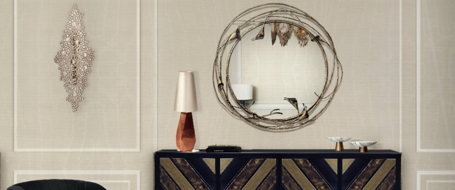 Mirror Design 10 Shimmering Mirror Design for Living Room stella mirror koket projects 930x390
