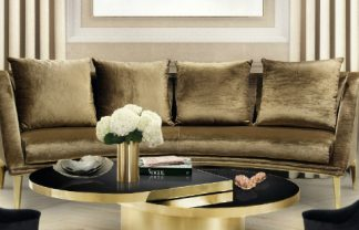 KOKET CONTEMPORARY NEW YORK APARTMENT FEATURING KOKET 2 A Light Airy New York Apartment Living Room luxury 324x208