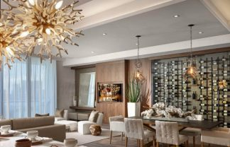 steven g Interiors by Steven G design Contemporary home at Echo Aventure ECHO Pendants Dining A new 1 324x208
